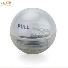 2017 new design widely used outdoor plastic waterproof battery led light balls