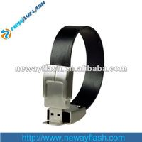 Wholesale leather bracelet usb flash drive (4GB 8GB)