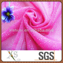 Embroidered Mesh Fabric Glitter For Wholesale Clothing In Los Angeles