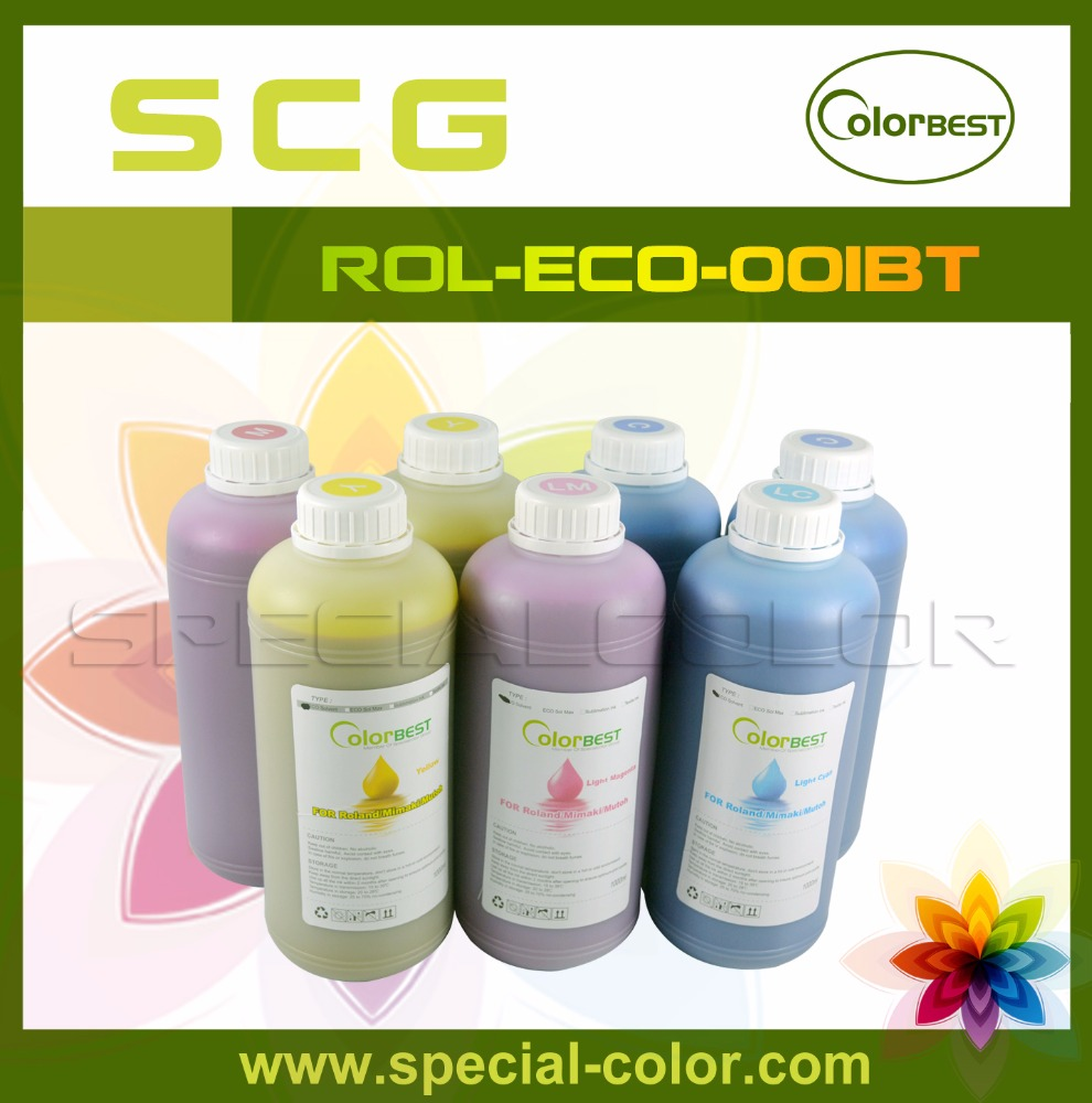 Roland Printer Ink In Bottle 1000ml Eco-Sol Ink DX4 <strong>Solvent</strong> Printer Ink