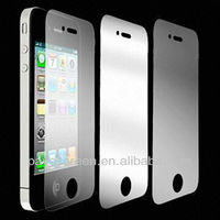 2013 hot ! Pavocreen Super clear Strong protection tempered glass self-adhesive designer glass film for iphone 4.5