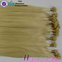 Wholesale Price Tangle Free No Shedding fusion hair extensions mini tip kilo