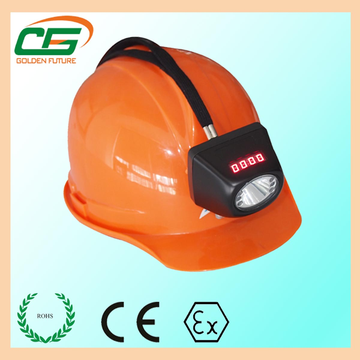 ip65 explosion proof cordless led coal miner headlamp