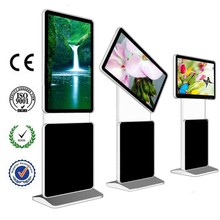 "LCD/LED Full HD advertising displayer Touch Screen System 47"" Floor Standing Digital Signage"