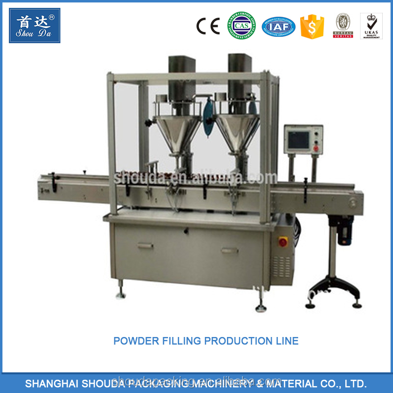 Best Price of Dual Nozzle Powder Bottle Filling Machine/Line With Long-Term Service