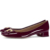 Low heel shoes and bags/ladies fancy low heel shoes/sequin low heel shoe