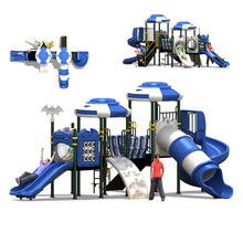 KINPLAY brand outdoor amusement Primary School Kids toy Used Playground Long Slide