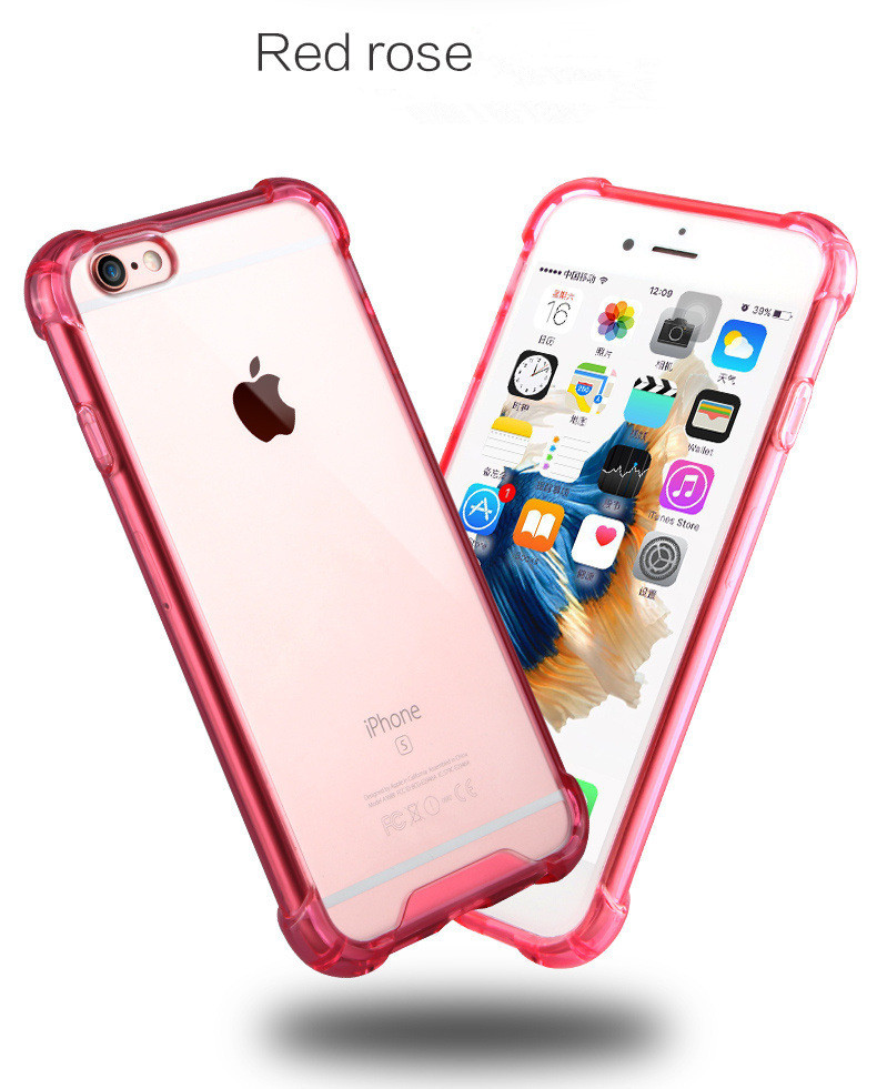 Fast Selling Cheap Products For iPhone 7 8 Case TPU , Drop-resistance Acrylic TPU cell phone case