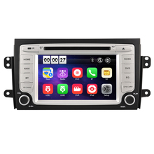 7 Inch Car DVD Player For SUZUKI/SX4 With 3G USB Host Radio GPS Navigation BT 1080P Ipod Free Maps