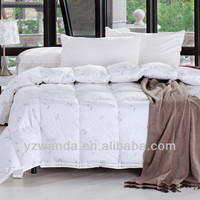 Elegant Embroidered Goose Feather And Down Quilt Customized in china