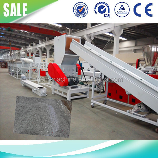 PE plastic film crushing and washing line
