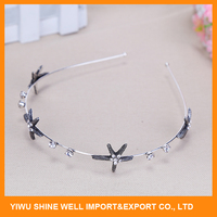 Nice metal hair band hair accessories for women with cheap price