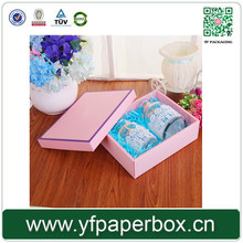 Yifeng custom underware pink packaging box wholesale price