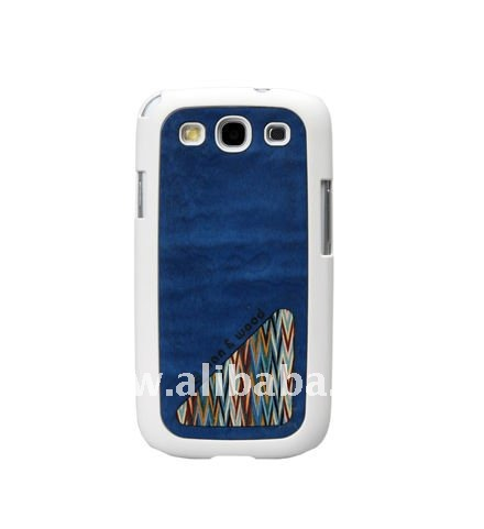 Blue SprinkleWood Smart phone case for GALAXY S3 4G