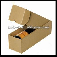 Rigid Enough Corrugated Cardboard Wine Shipping Boxes 6 Bottle Wine Box