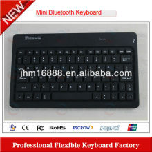 7 Inch flexible bluetooth keyboard with case for ipad