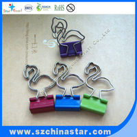 Different package choose beautiful small metal binder clip