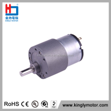 micro 37mm gear boxes 24v dc gear motor for messager cut-card machine