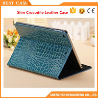 Fashion Slim Crocodile Leather Case for iPad Mini 1/2 Smart Cover for iPad mini 3 with Retina Display