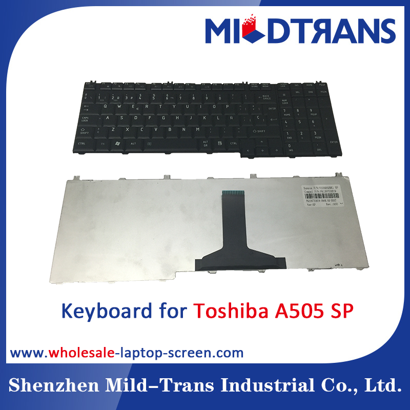 Notebook Internal Keyboard for Toshiba A505 SP language layout