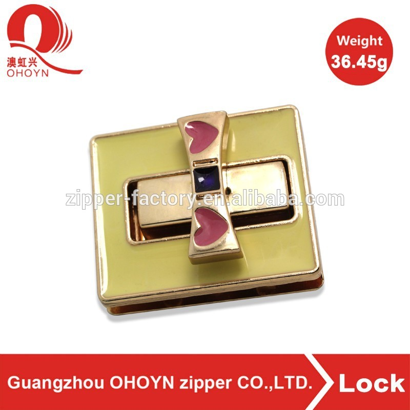 alibaba wholesale handbag lock metal