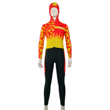 custom sublimation ski & snow skin suits speed skating clothes