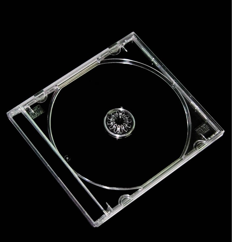 Wholesale cd jewel case top rated 5.2mm slim cd case