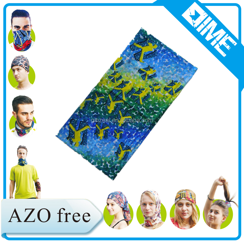 2016 Custom Logo Printed Design Your Own Bandana For Male And Famale