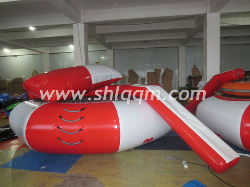 High quality cheap floating inflatable water trampoline