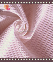 150GSM weight 100% polyester Honeycomb jacquard imitated silk fabric for fashion dress and tops