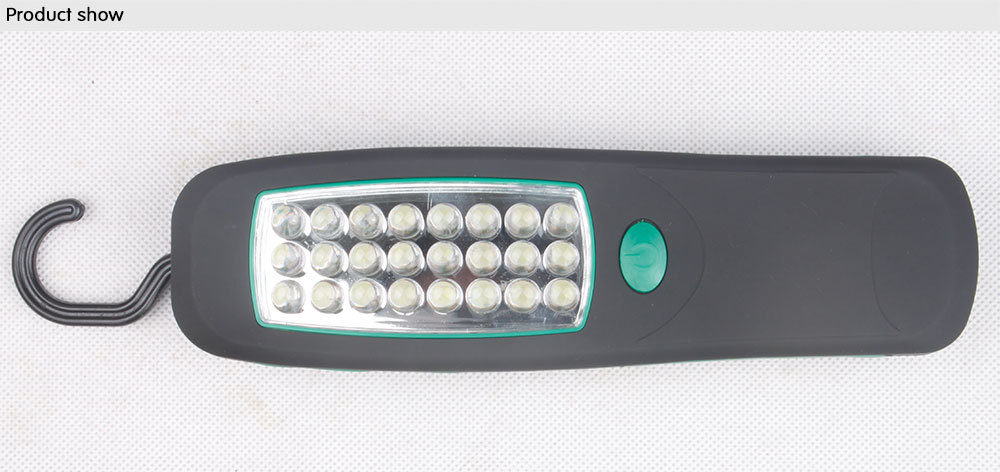 24 H.I.O LED work light portable magnetic lamp continuous 4 hours LED life 100000 hours batteries