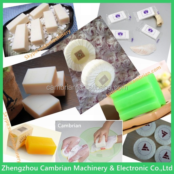 Laundry soap making toilet soap production line with single-screw soap plodder
