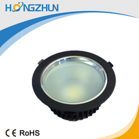 50000hours time span led downlight housing AC85-265v CE ROHS approved