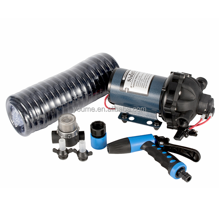 Singflo 70 PSI 12v <strong>DC</strong> 5.5GPM High Pressure Water Pump spare parts Car Wash down pump kits