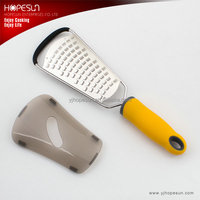 Best sell stainless steel microplane cheese grater with plastic handle