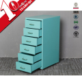 China Supplier Helmer 6 Drawer Steel Mobile Filing Cabinet