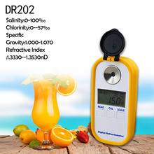 DR202 High accuracy Digital refractometer for salinity