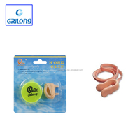 YIWU factory supplies Best silicone soft comfortable swimming ear plugs latex nose clips
