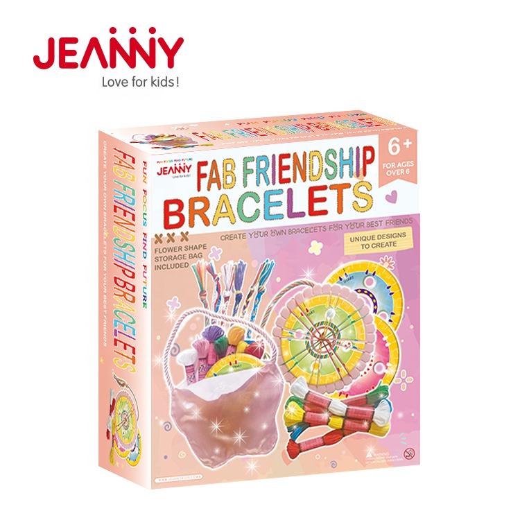 Make Your Own Friendship Bracelets Kids Craft Activity Kit
