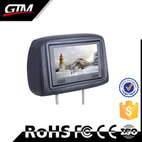 9 Inch Indoor Application Tft Type Bus Headrest Lcd Advertising Monitor/ Car Taxi Indoor Application Lcd Headrest Advertising