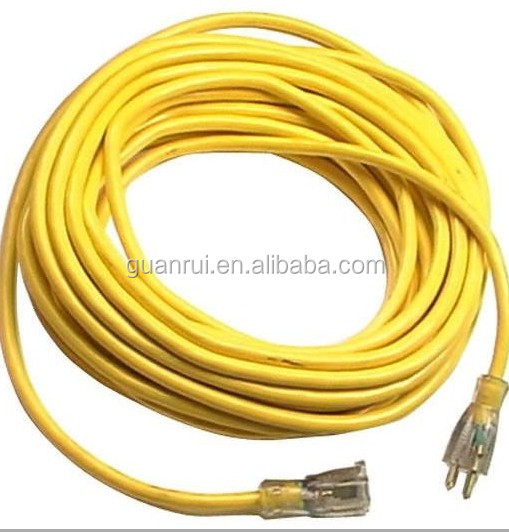 UL approvl 3pin power extension &home applicable cable