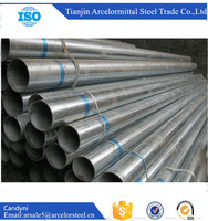 BS1387 Hot Dip Carbon Rigid Galvanized Steel Pipe for Fluid Pipe Manufacturers China