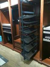 wardrobe cabinet parts rotating shoe rack