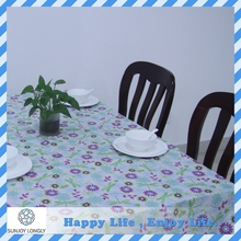 Waterproof Custom Printed Plastic Tablecloth