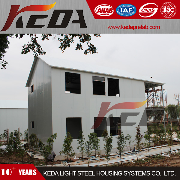 Steel Panelized Residential House Prefabricated Home Modular