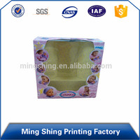 Toy Industrial Use and 300gsm Paper Packaging Box with Clear Window