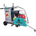 "13HP electric start gasoline concrete cutting machine with 20"" blades"