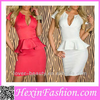 Accept Paypal Sexy Wholesale Ladies Fashion Office Wear