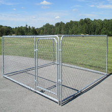 4*2.3*1.83m Cheap Chain link Dog Cages, Large Dog Run, Dog Kennel Design