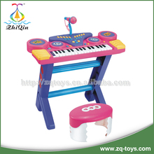 Good quality children electronic organ toys with microphone